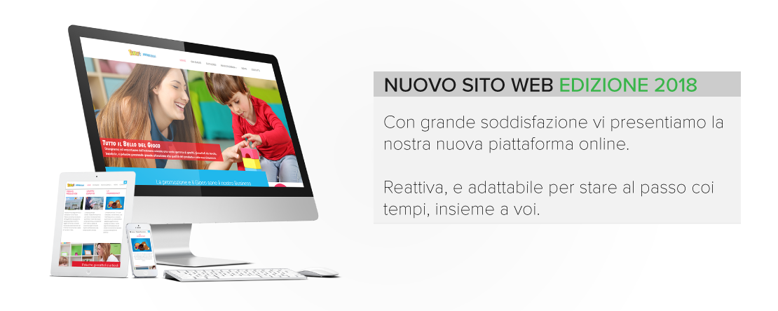 header news nuovo sito online 2018